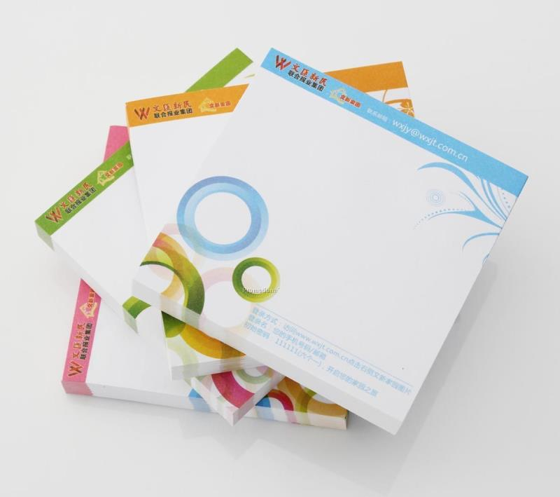 Promotional Sticky Note Pad,Customized Printed Note Pad