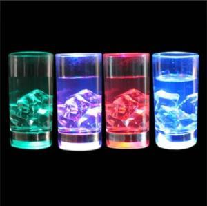 Flashing Liquid Activated Shot Glass Cup, LED Flashing Mug, LED Flashing Cup