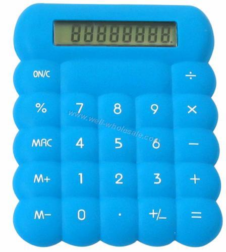 Colorful Silicone Calculator