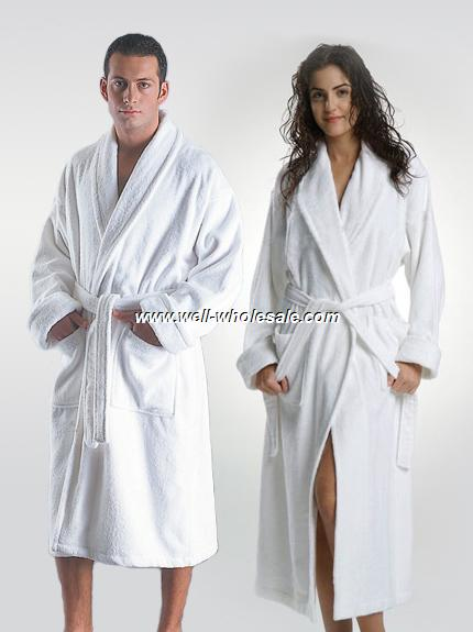 wholesale bathrobe for man and woman