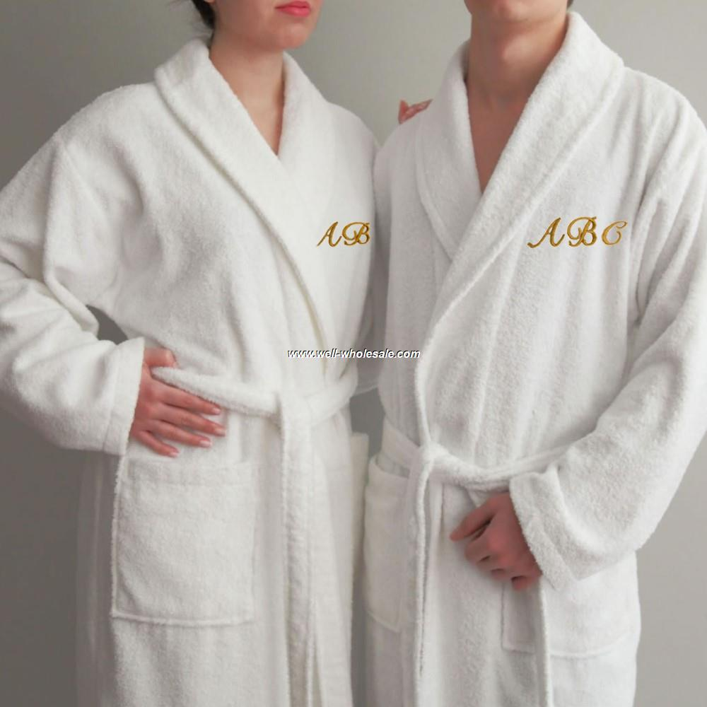 OEM Cotton Bathrobe