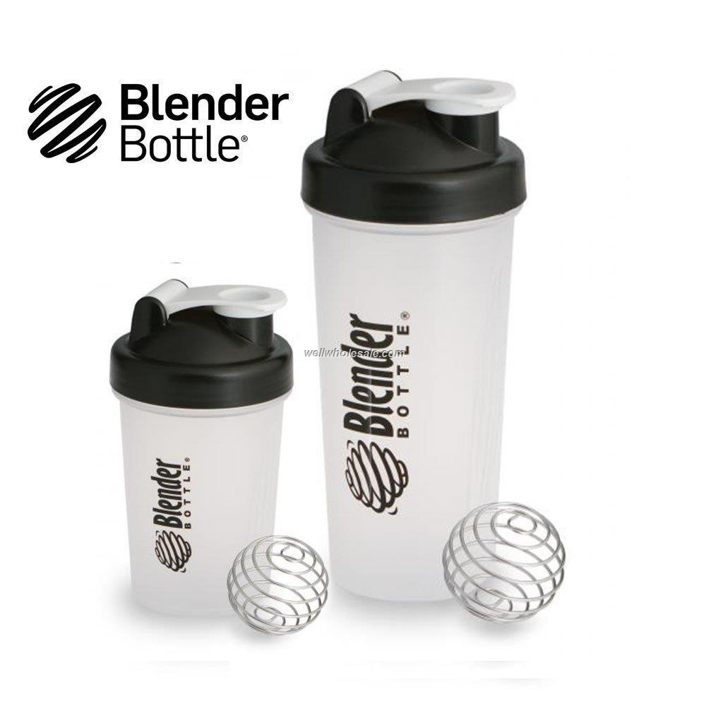 custom logo protein shaker blender bottle