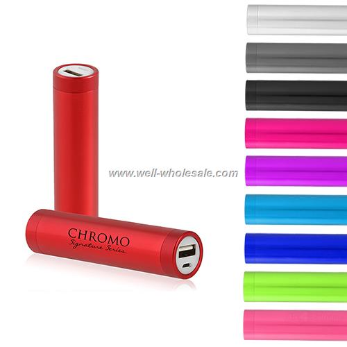 Mobile phone emergency charger, metal tube mobile power bank