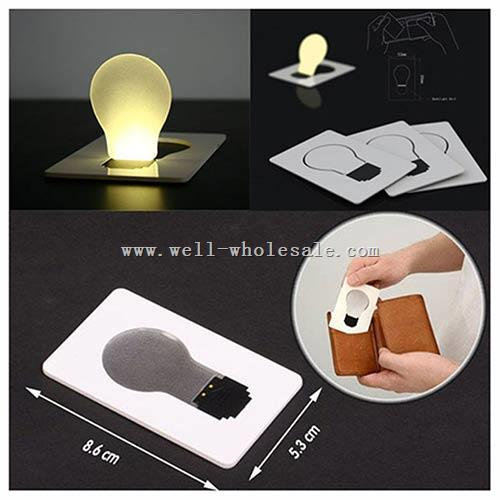 LED pocket lamp LED Bulb Light Pocket Wallet Size Lamp