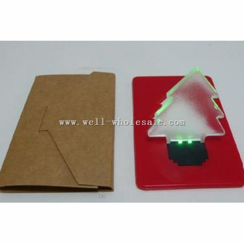 Fashion led light card LED pocket lamp LED Bulb Light