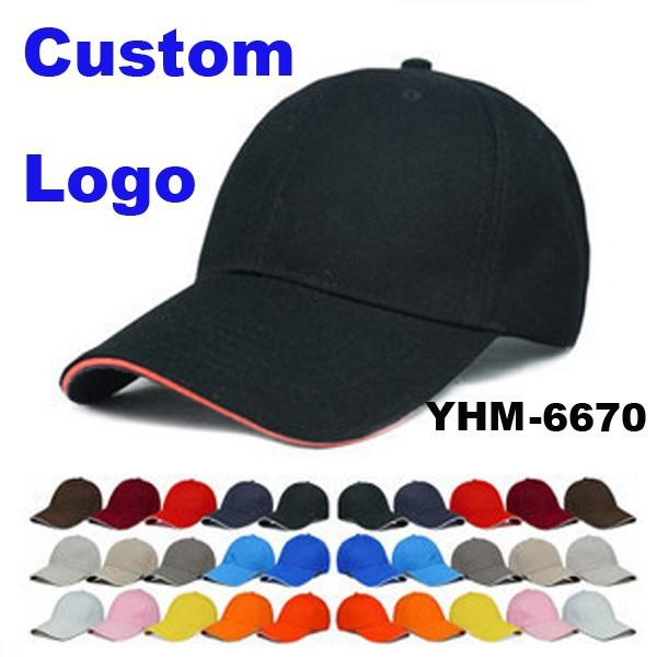 OEM Promotional Logo Printed Cheap Custom Baseball Cap