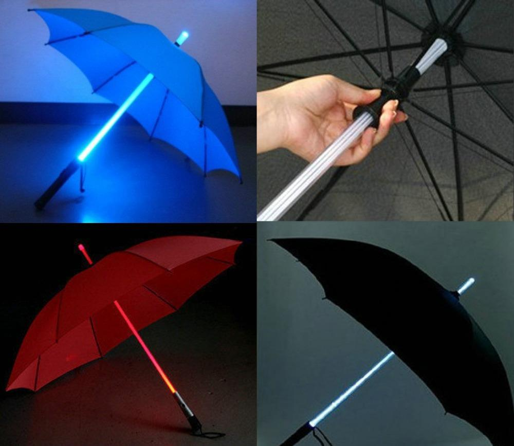 2016 Straight LED Umbrella With Torch