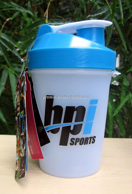 BPA free plastic blender shaker bottle